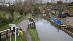A water company has been fined £1m for polluting the Grand Union Canal.