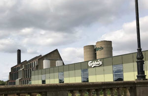 Carlsberg pollution leads to restorative charity donations