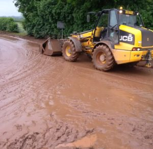 Environment Agency and Herefordshire Council are using satellite technology to target sites where soil water run-off is causing big problems for the environment and the county's roads.